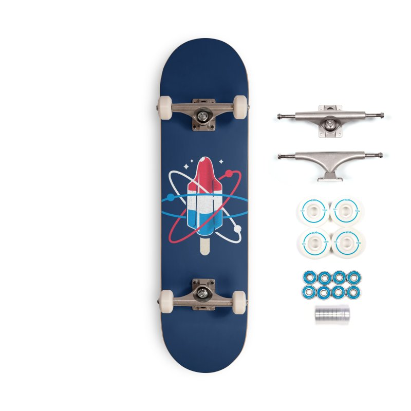 Pop Science Accessories Complete - Basic Skateboard by Rocket Artist Shop