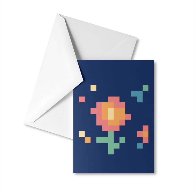 Gardenvaders Accessories Greeting Card by Rocket Artist Shop