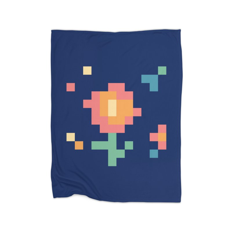 Gardenvaders Home Fleece Blanket Blanket by Rocket Artist Shop