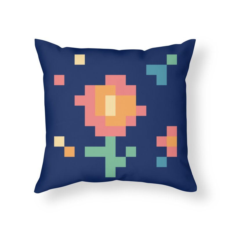 Gardenvaders Home Throw Pillow by Rocket Artist Shop