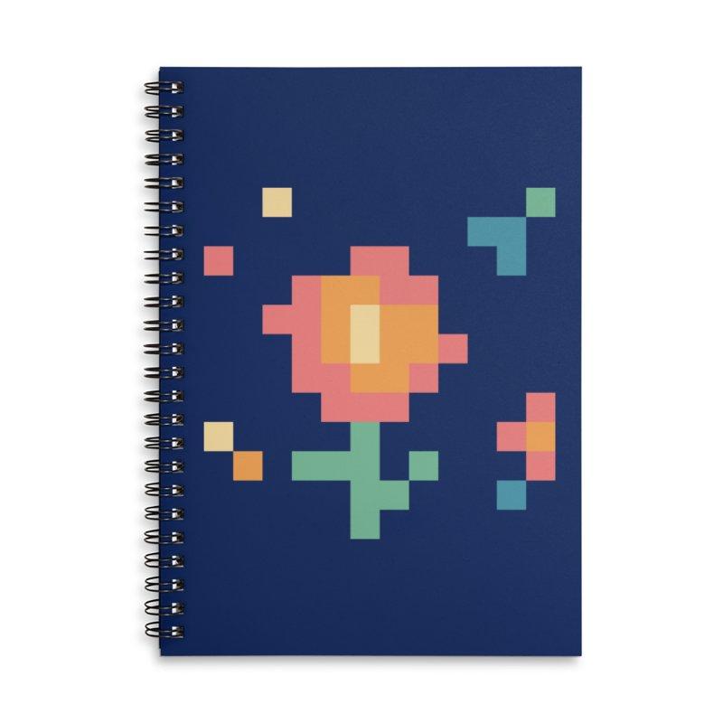 Gardenvaders Accessories Lined Spiral Notebook by Rocket Artist Shop