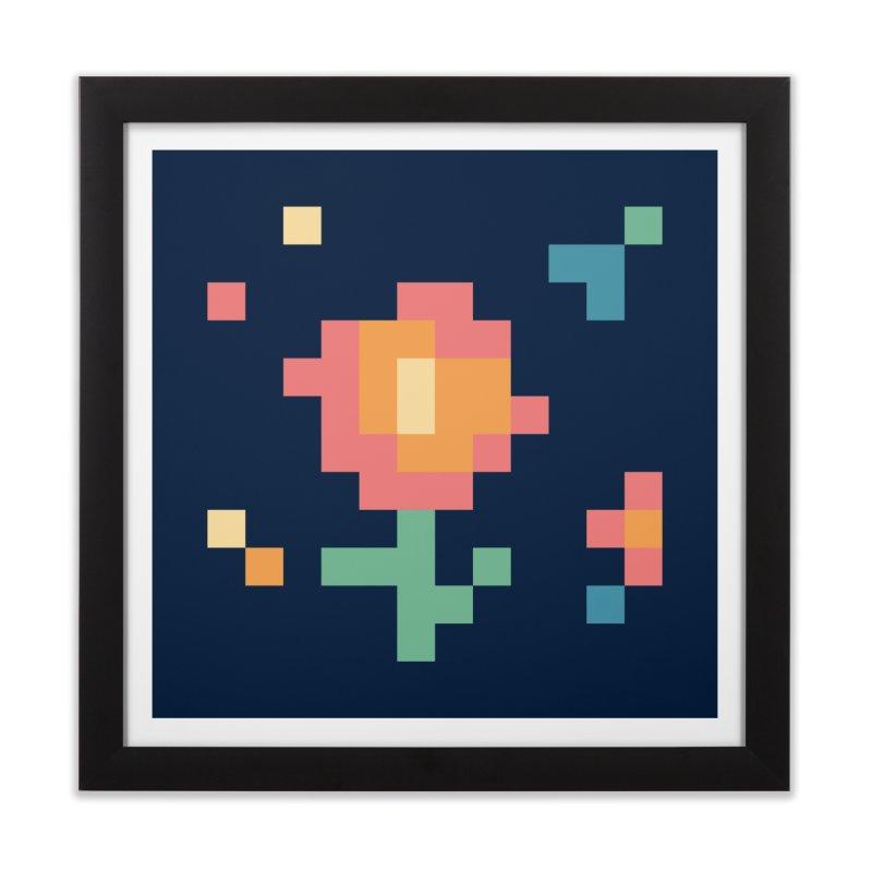Gardenvaders Home Framed Fine Art Print by Rocket Artist Shop