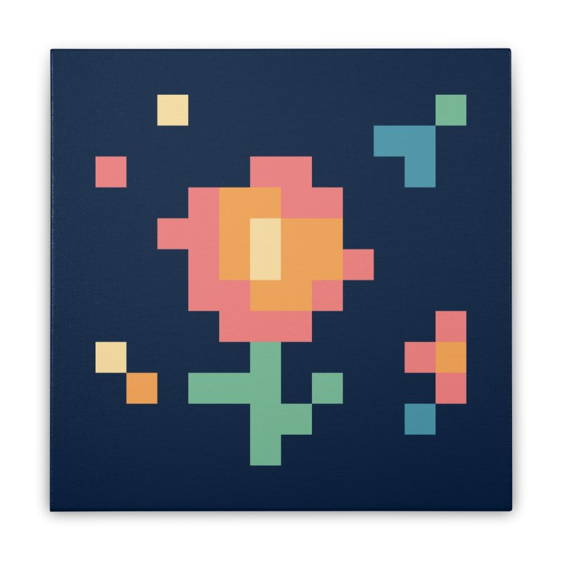 Gardenvaders Home Stretched Canvas by Rocket Artist Shop