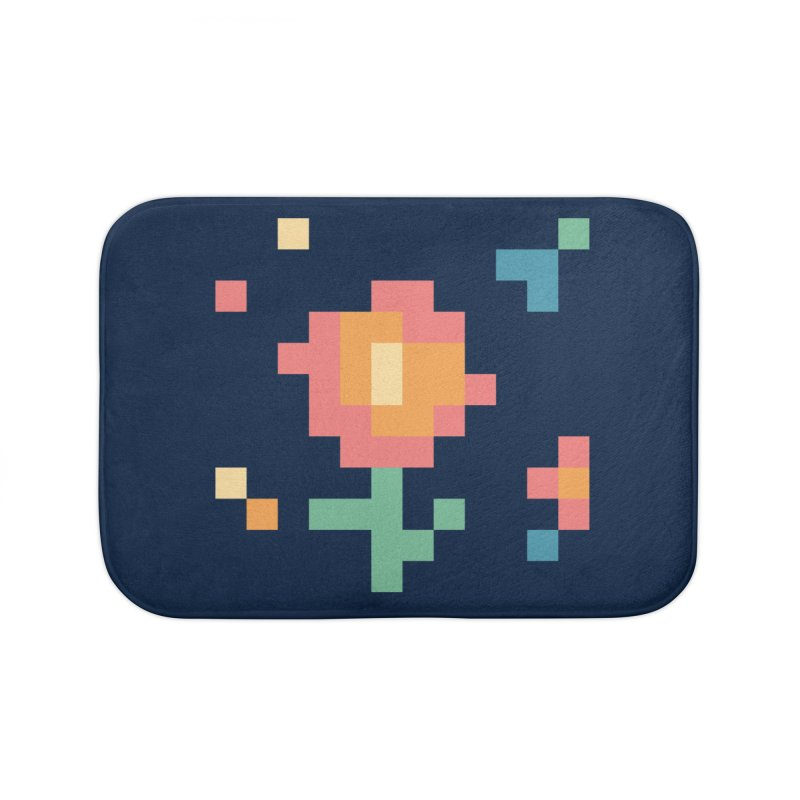 Gardenvaders Home Bath Mat by Rocket Artist Shop