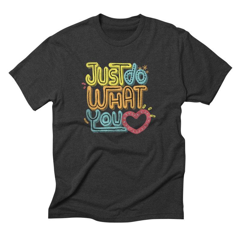THE FORMULA Men's Triblend T-shirt by Rocket Artist Shop