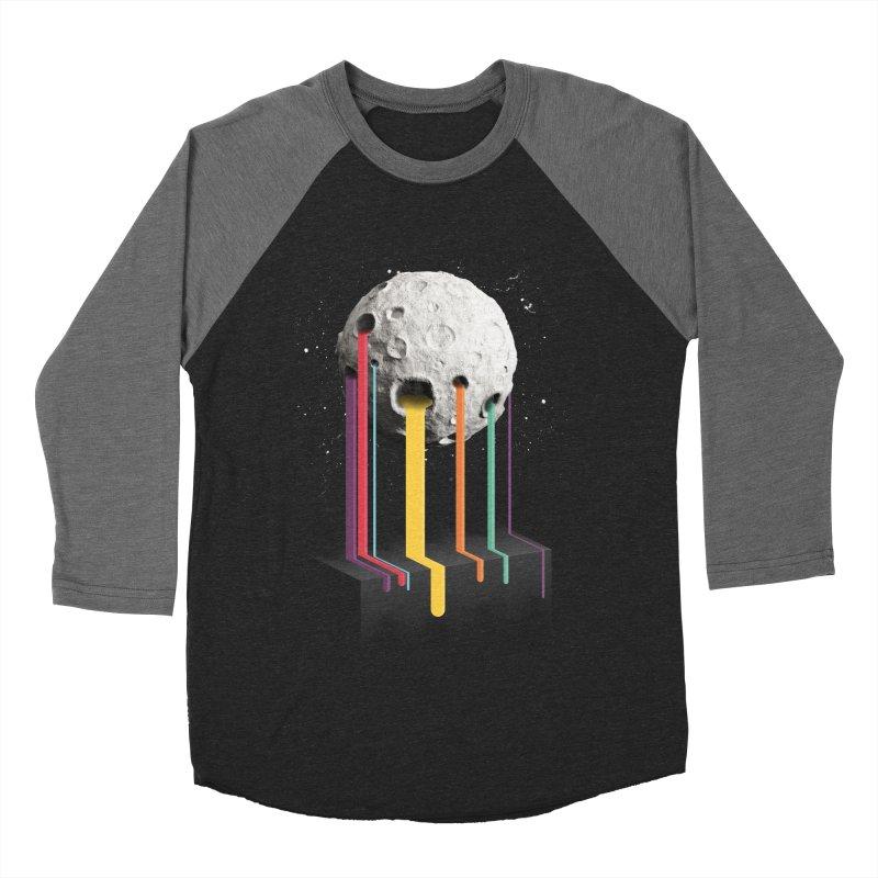 RainbowMoon Women's Baseball Triblend T-Shirt by Rocket Artist Shop