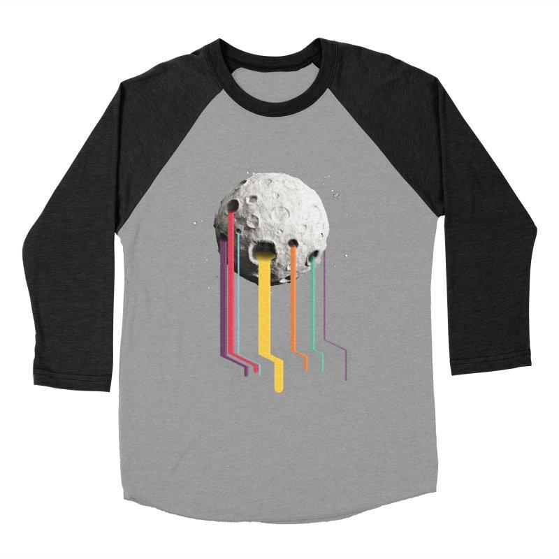 RainbowMoon Men's Baseball Triblend T-Shirt by Rocket Artist Shop