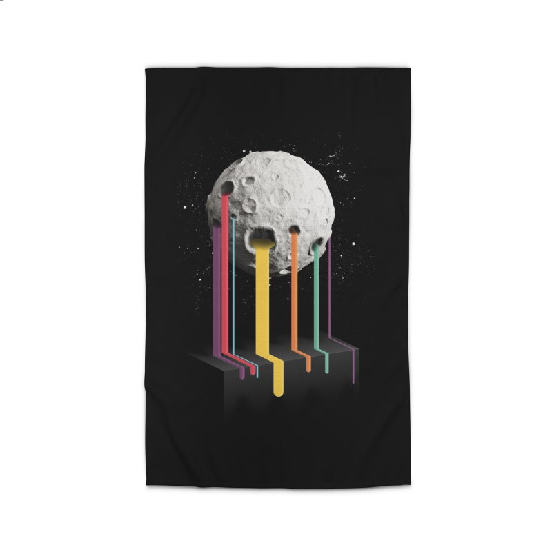 RainbowMoon Home Rug by Rocket Artist Shop