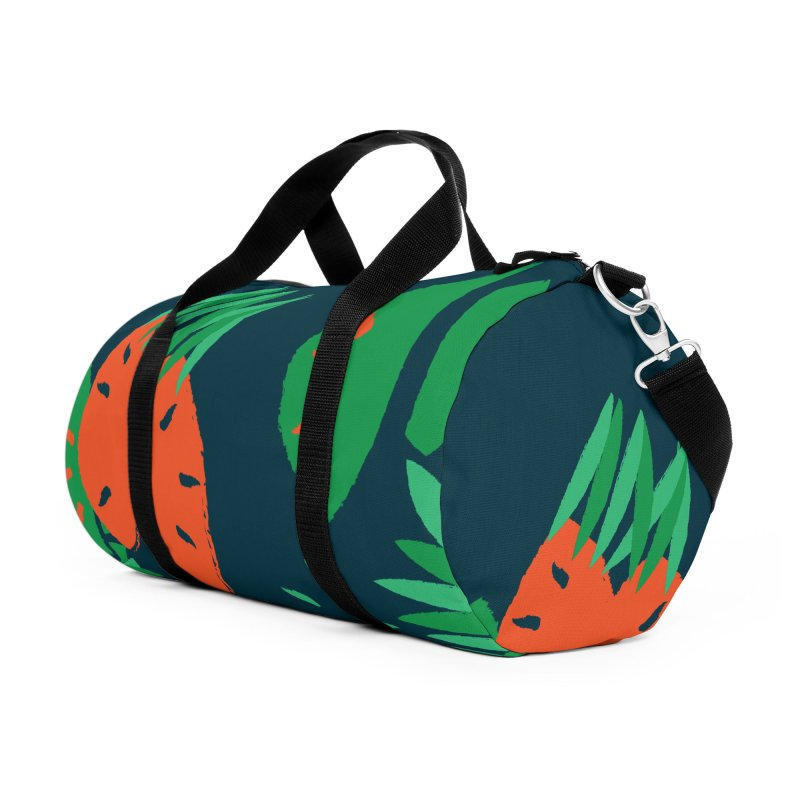 Tropical Mood Accessories Duffel Bag Bag by Rocket Artist Shop