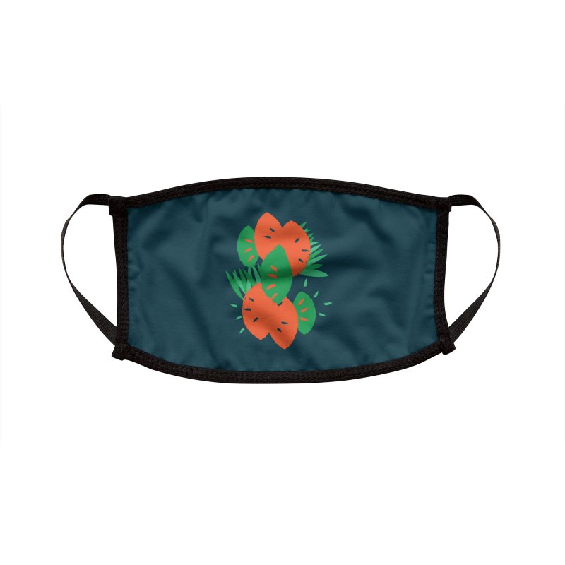 Tropical Mood Accessories Face Mask by Rocket Artist Shop