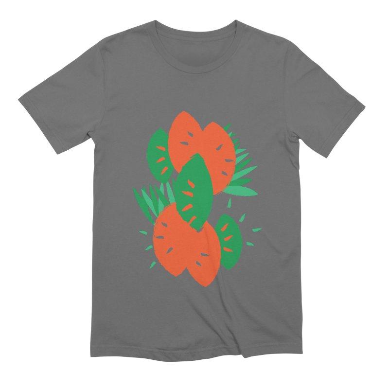 Tropical Mood Men's Extra Soft T-Shirt by Rocket Artist Shop