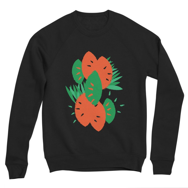 Tropical Mood Women's Sponge Fleece Sweatshirt by Rocket Artist Shop