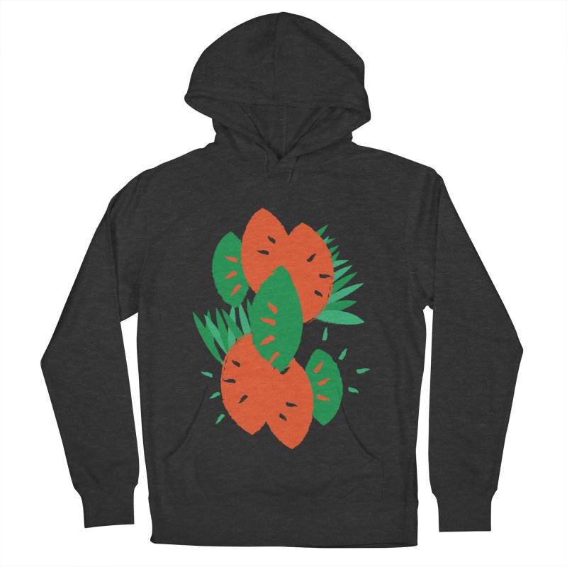 Tropical Mood Women's French Terry Pullover Hoody by Rocket Artist Shop