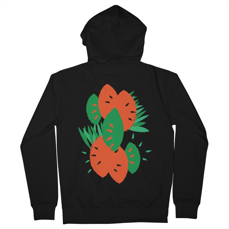 Tropical Mood Men's Zip-Up Hoody by Rocket Artist Shop
