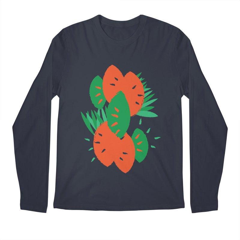 Tropical Mood Men's Regular Longsleeve T-Shirt by Rocket Artist Shop