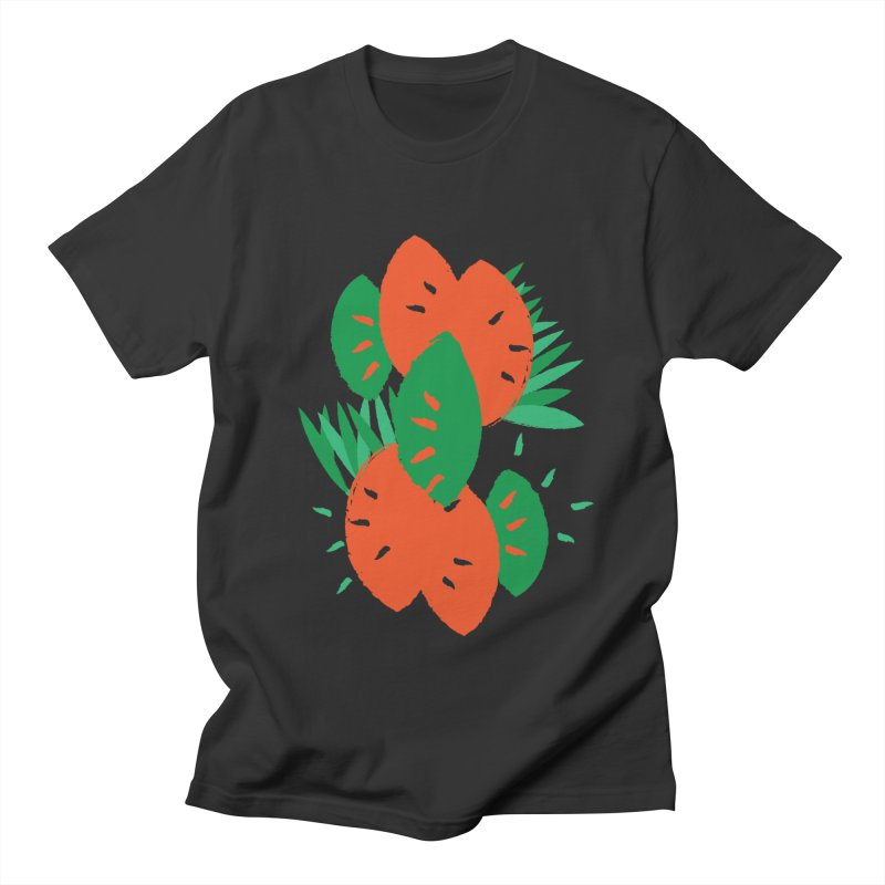 Tropical Mood Men's Regular T-Shirt by Rocket Artist Shop