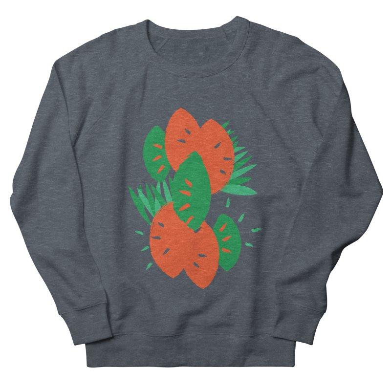 Tropical Mood Women's French Terry Sweatshirt by Rocket Artist Shop
