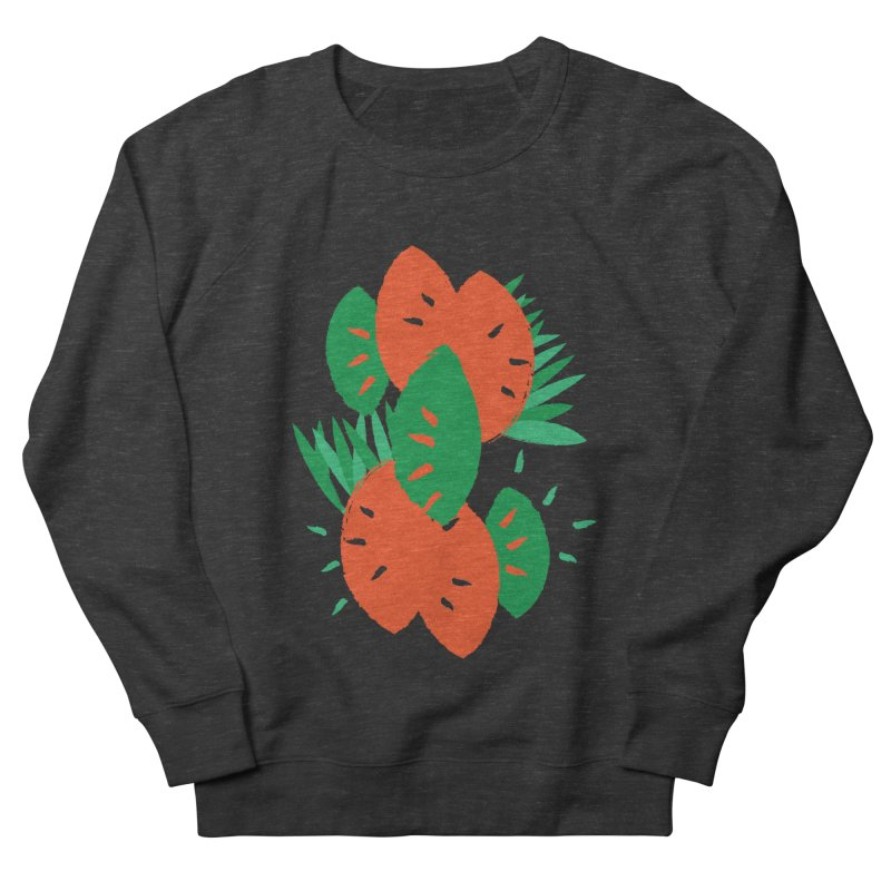 Tropical Mood Men's French Terry Sweatshirt by Rocket Artist Shop