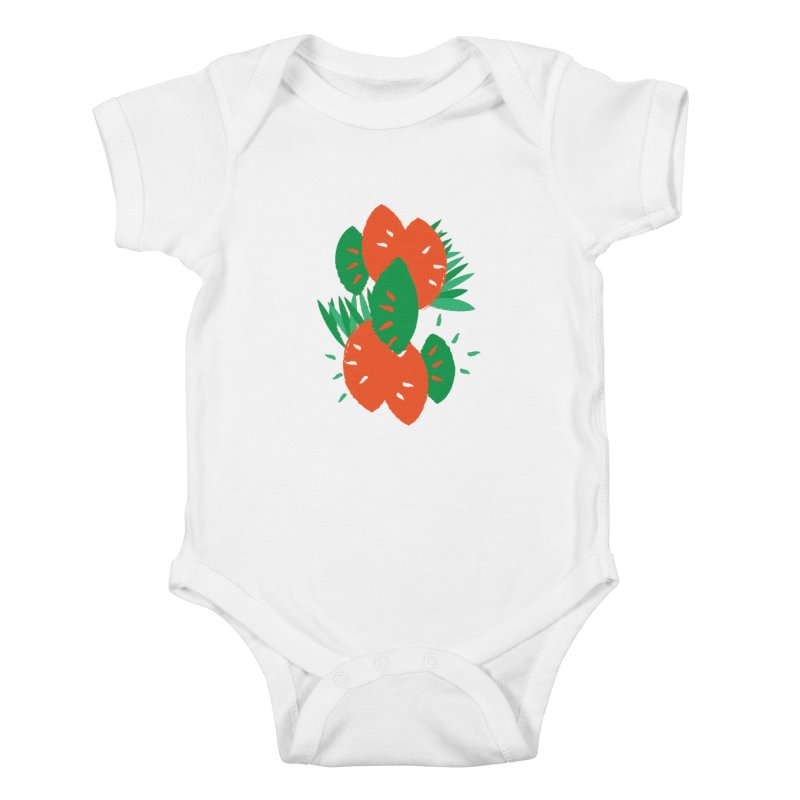 Tropical Mood Kids Baby Bodysuit by Rocket Artist Shop