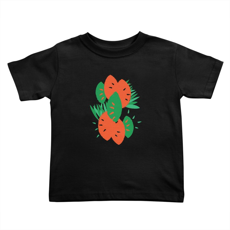 Tropical Mood Kids Toddler T-Shirt by Rocket Artist Shop