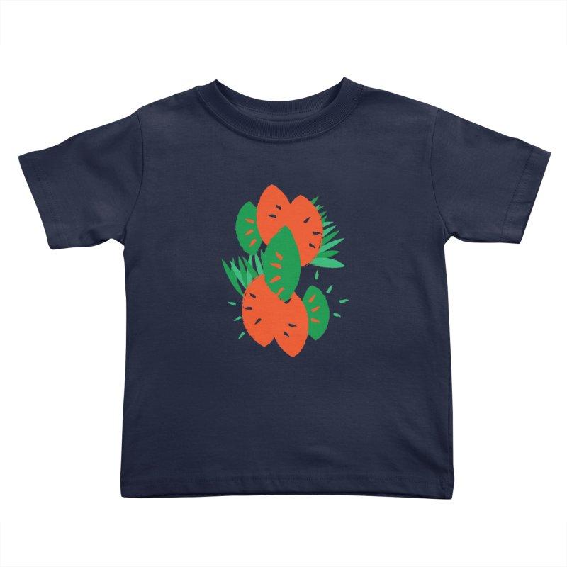 Tropical Mood Kids Toddler T-Shirt by Rocket Artist Shop