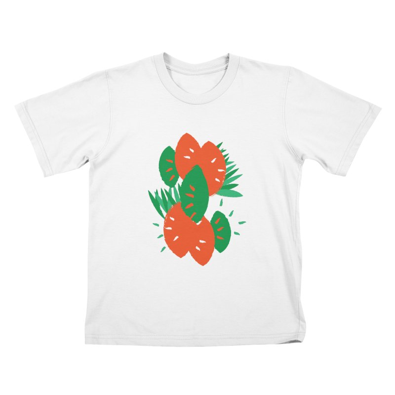 Tropical Mood Kids T-Shirt by Rocket Artist Shop