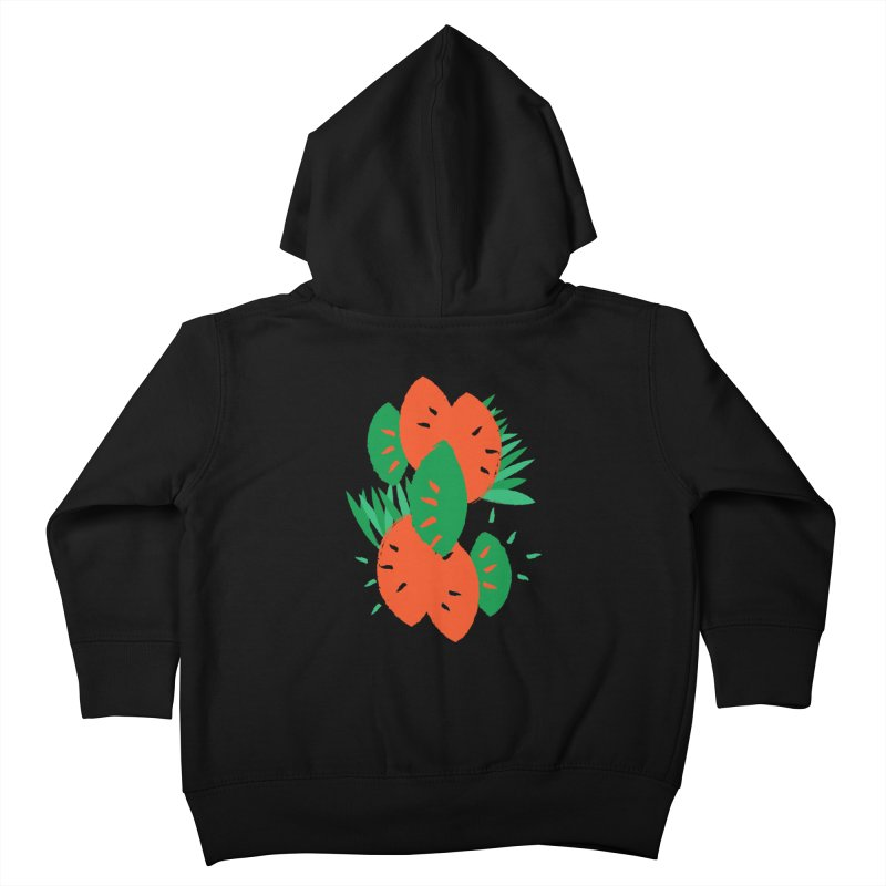 Tropical Mood Kids Toddler Zip-Up Hoody by Rocket Artist Shop