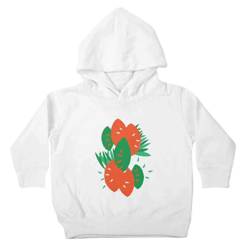 Tropical Mood Kids Toddler Pullover Hoody by Rocket Artist Shop