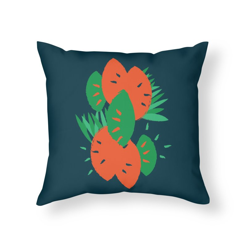 Tropical Mood Home Throw Pillow by Rocket Artist Shop