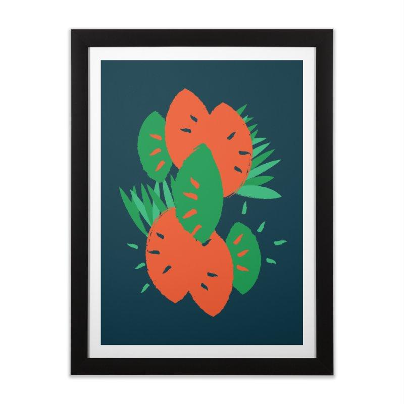 Tropical Mood Home Framed Fine Art Print by Rocket Artist Shop