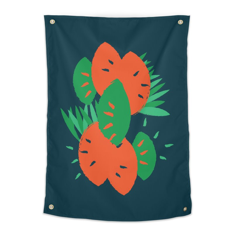 Tropical Mood Home Tapestry by Rocket Artist Shop