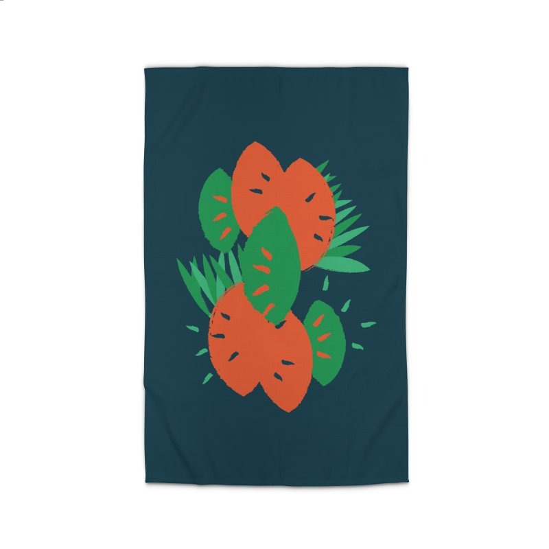 Tropical Mood Home Rug by Rocket Artist Shop