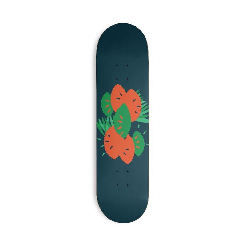Tropical Mood Accessories Skateboard by Rocket Artist Shop