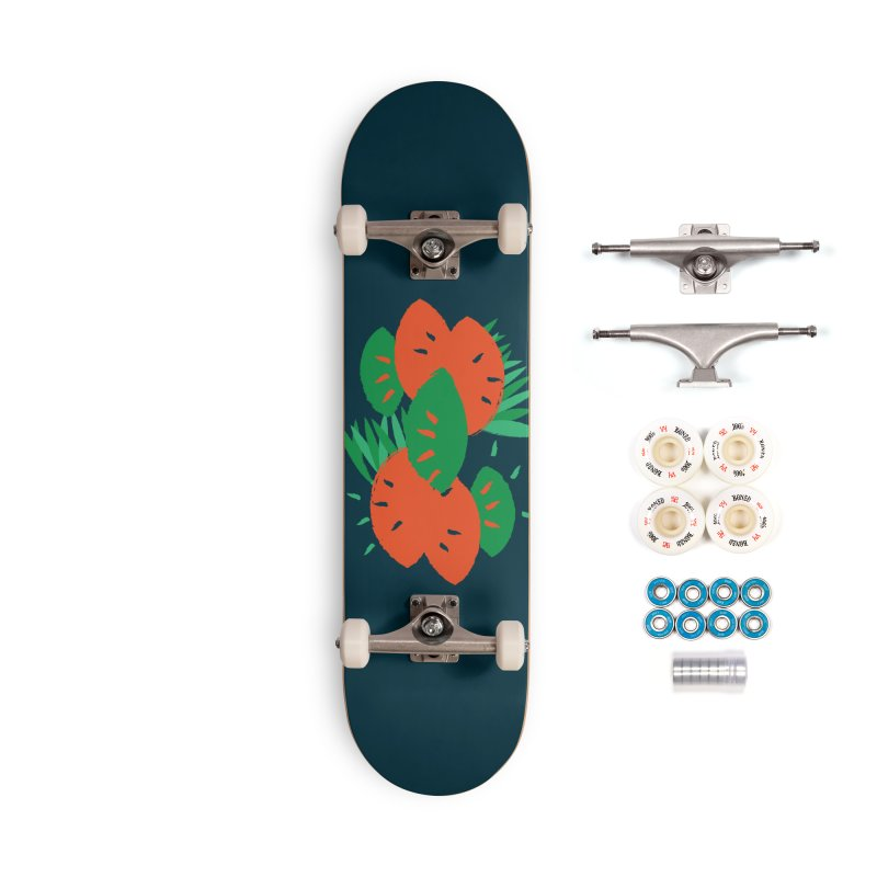 Tropical Mood Accessories Complete - Premium Skateboard by Rocket Artist Shop