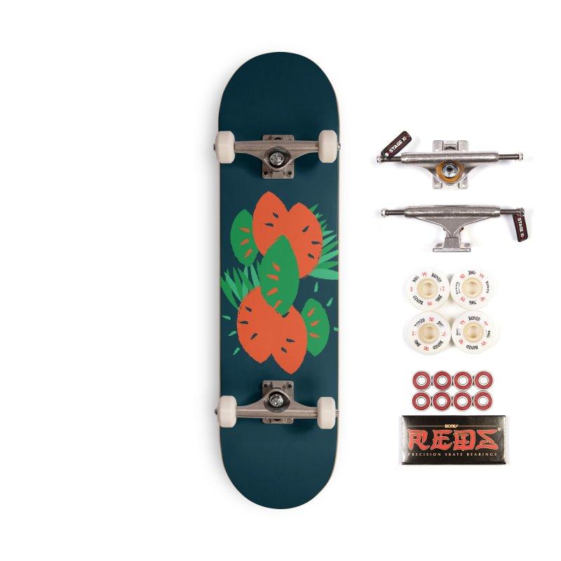 Tropical Mood Accessories Complete - Pro Skateboard by Rocket Artist Shop