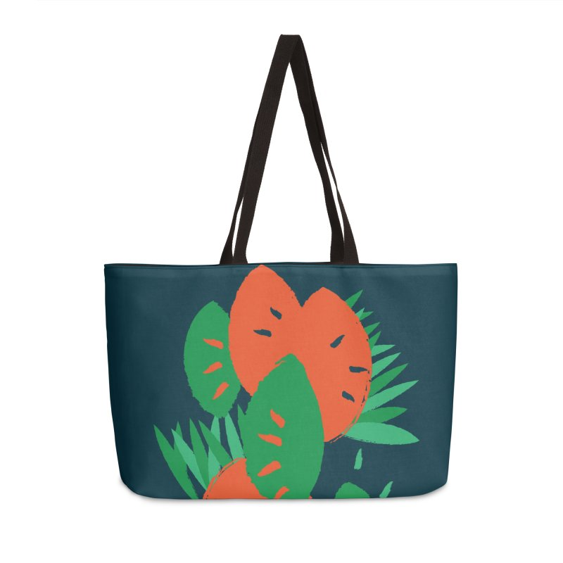 Tropical Mood Accessories Weekender Bag Bag by Rocket Artist Shop