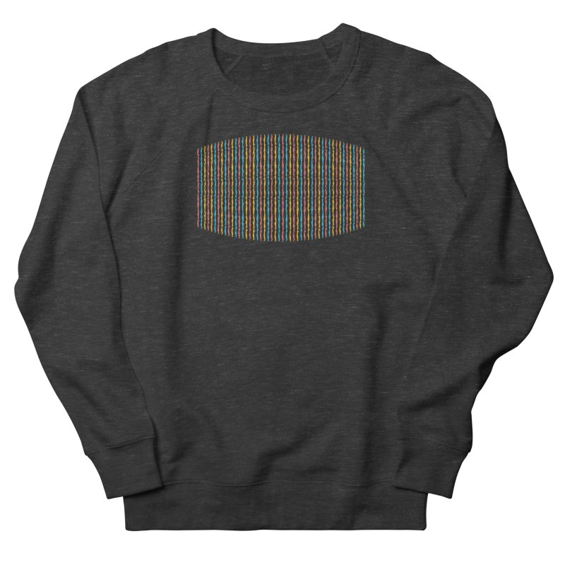 Stripped Women's Sweatshirt by Rocket Artist Shop