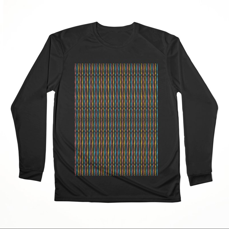 Stripped Women's Performance Unisex Longsleeve T-Shirt by Rocket Artist Shop