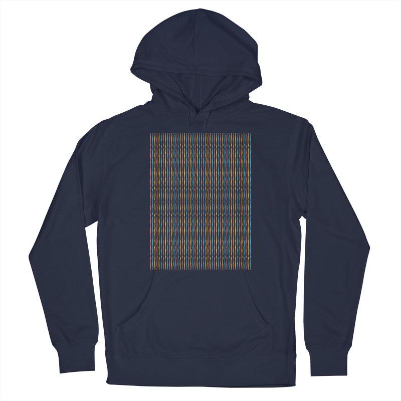 Stripped Men's Pullover Hoody by Rocket Artist Shop