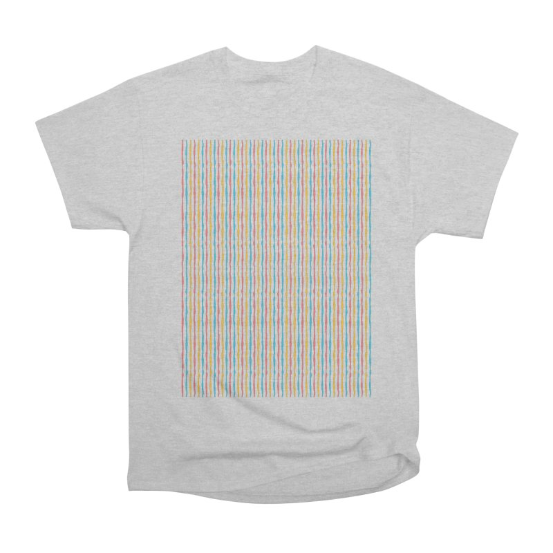 Stripped Men's Heavyweight T-Shirt by Rocket Artist Shop