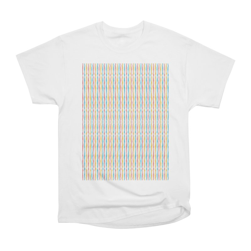 Stripped Women's Heavyweight Unisex T-Shirt by Rocket Artist Shop