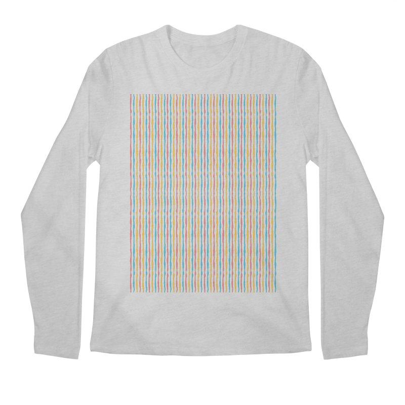 Stripped Men's Regular Longsleeve T-Shirt by Rocket Artist Shop