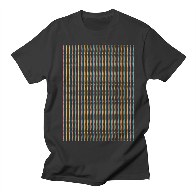 Stripped Men's T-Shirt by Rocket Artist Shop