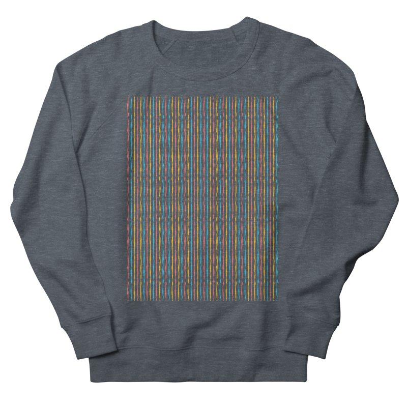 Stripped Men's Sweatshirt by Rocket Artist Shop
