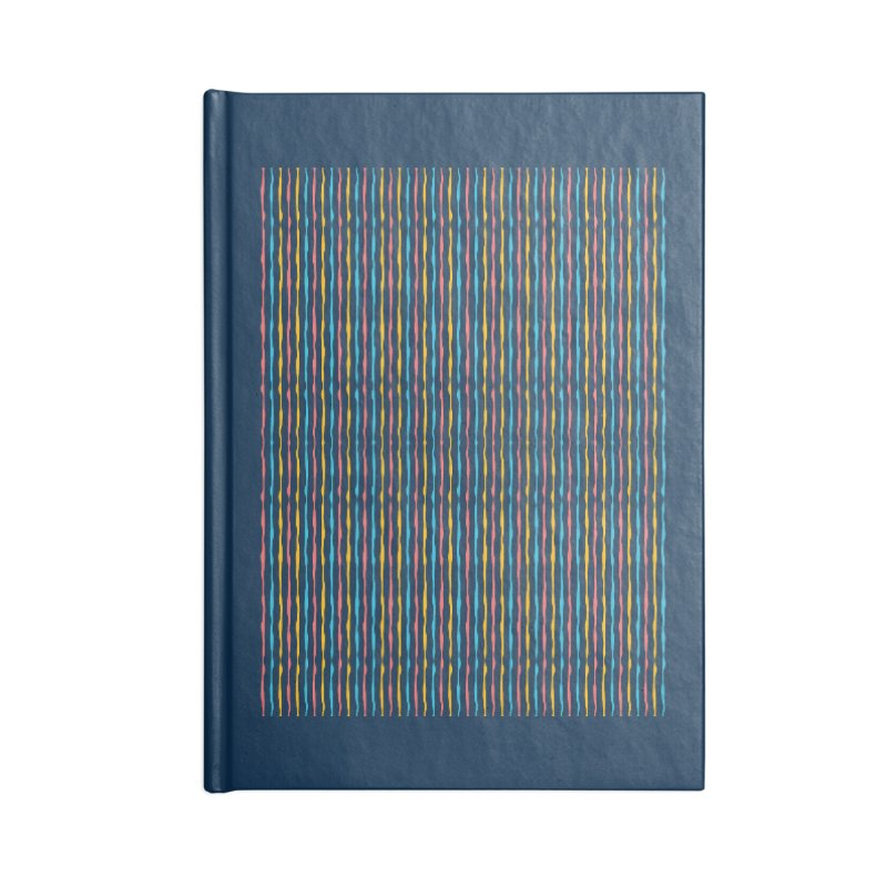 Stripped Accessories Blank Journal Notebook by Rocket Artist Shop