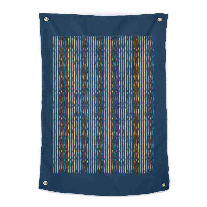 Stripped Home Tapestry by Rocket Artist Shop