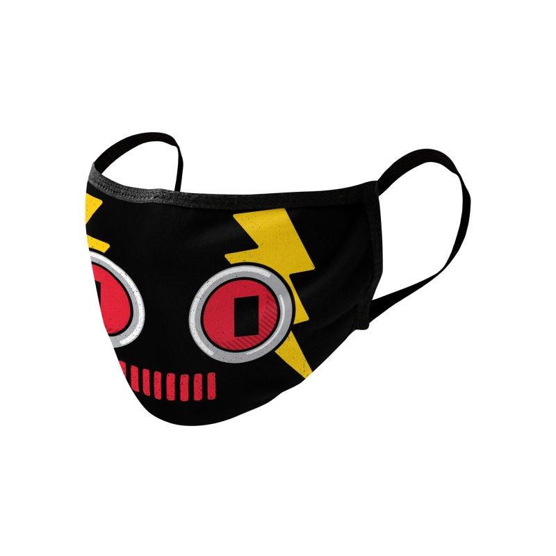 ROBOT BOWIE Accessories Face Mask by Rocket Artist Shop