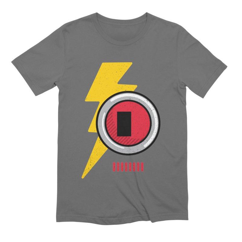 ROBOT BOWIE Men's Extra Soft T-Shirt by Rocket Artist Shop