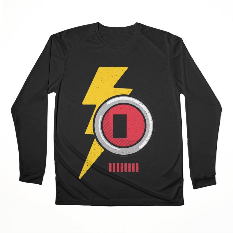 ROBOT BOWIE Men's Performance Longsleeve T-Shirt by Rocket Artist Shop