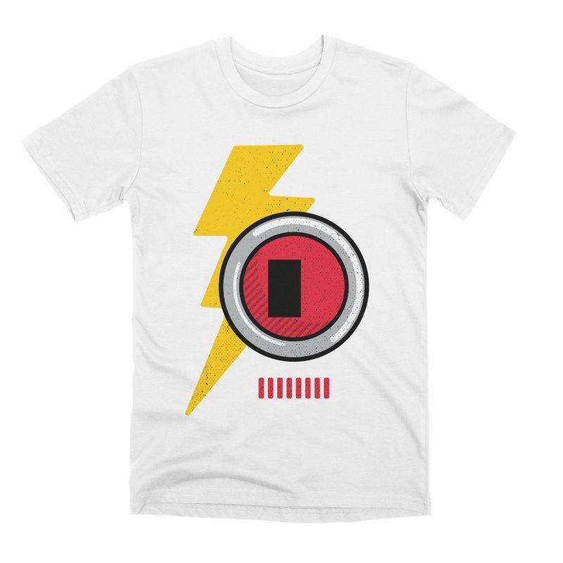 ROBOT BOWIE Men's Premium T-Shirt by Rocket Artist Shop